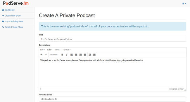 Create Podcast Show Thumbnail