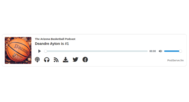 Embeddable Podcast Player